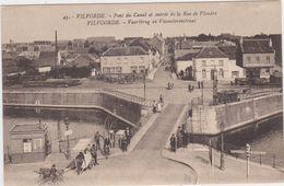 Vilvoorde - Vaartbrug En Vlaanderenstraat (niet Gelopen Kaart) - Vilvoorde