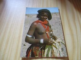 CPM Djibouti - Jeune Fille En Brousse. - Gibuti