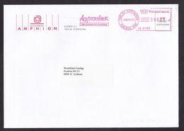 Netherlands: Cover, 2000, Meter Cancel, Theatre Amphion, Doetinchem, Tourism Slogan Achterhoek Region (traces Of Use) - Covers & Documents