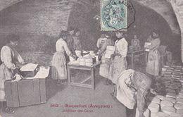 12-ROQUEFORT INTERIEUR DES CAVES - Roquefort