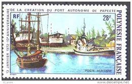 "Polynésie Aerien YT 60 (PA) "" Port Papeete "" 1972 Neuf** - Unused Stamps"