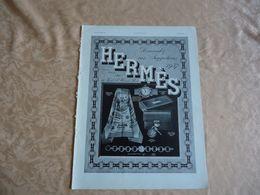 Pub -  28 Novembre 1936 - HERMES - - Pubblicitari