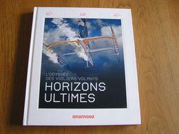 HORIZONS ULTIMES L'Odyssée Des Voiliers Volants Trimarans Marine Sport Compétition Mer Marin Skipper Voilier Bateau - Boats