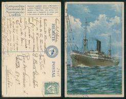 BARCOS SHIP BATEAU PAQUEBOT STEAMER [BARCOS # 02955 ] - COMPANHIA NACIONAL DE NAVEGAÇÃO  NV ANGOLA - Steamers