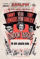 London Laughs Vera Lynn Tony Hancock Adelphi Comedy Theatre Programme - Programmes