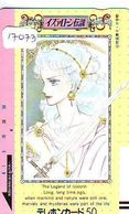 Télécarte Japon * 110-10527 * LEGEND OF IZALOHN * ANIME Japan (17073) FRONT BAR Phonecard Balken TK - BD