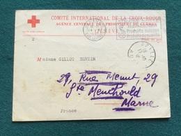 Carte De Correspondance Prisonnier De Guerre Français 1940 Croix Rouge 1 - 1939-45