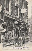 "CPA-35-DINARD-Rue Jacques Cartier-Bazar ""L'ancien Temple""-Animée-Top - Dinard"