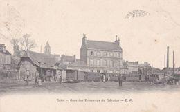 14-CAEN GARE DES TRAMWAYS DU CALVADOS - Caen