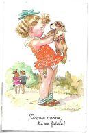 Toi, Au Moins, Tu Es Fidèle - Enfant Et Chien - Illustrateur MAUZAN - Mauzan, L.A.