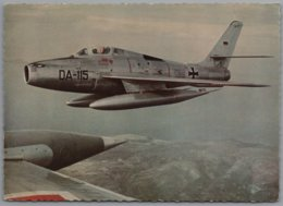 Bundeswehr - Standard Jagdbomber Republic F-84 F Thunderstreak  DA-115 - Otros