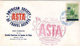 39025 Cuba 1959 ASTA Convention FDC - FDC