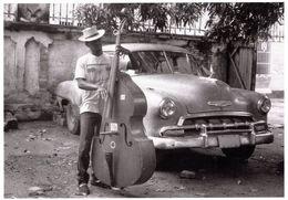 Trinidad Bass Player Cuba Musician Postcard - Non Classés