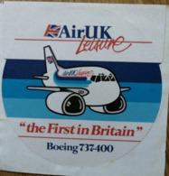 Air UK Leisure Sticker - Stickers