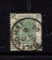 HONG  KONG    1880    2c  Green    USED - Gebruikt