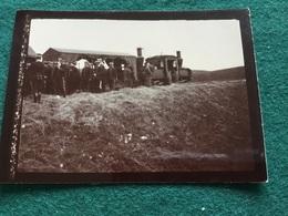 Petite Photo Train Decauville Est De La France Visite De Saint Cyr Avant 1914 9 X 6,5 Cm - Documents