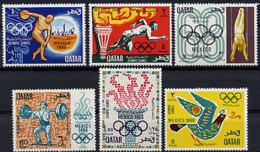 Qatar, 1968, Olympic Summer Games Mexico, Sports, MNH, Michel 361-366 - Qatar