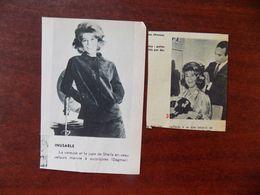 Sheila ; 2 Illustrations De Presse - Affiches & Posters