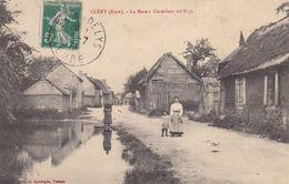 CLÉRY - EURE - (27) - RARE CPA ANIMÉE DE 1913. - France