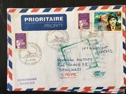 Saint Dizier 2000 Base Aérienne 113 Saint Exupery Meeting  Avion Aviation  Retour à L'envoyeur - Postmark Collection (Covers)