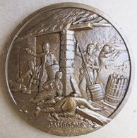 Médaille En Bronze Centenaire De CAMERONE  1863 – 1963 Légion Etrangère - France