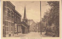 Vlesenbeke - De Schaliestraat En Kerkzicht - Uitg. Pierre Moriau - Sint-Pieters-Leeuw