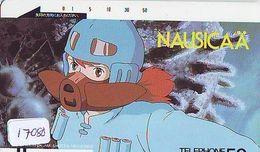 Télécarte Japon * 110-2929 *  MANGA MIYAZAKI * NAUSICAÄ * ANIME Japan (17.080) FRONT BAR Phonecard Balken TK - BD