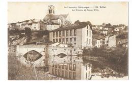 Bellac - Le Vincou Et Basse-Ville - édit. Non Identifié 1138 + Verso - Bellac