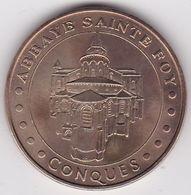 12 Aveyron. Abbaye Sainte Foy Conques 2003 Monnaie De Paris - Monnaie De Paris