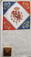 Banderín Bandera Regimiento Rey José I Bonaparte. España. 1808-1813. Guerras Napoleónicas. Guerra De La Independencia - Drapeaux