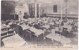 33. BORDEAUX. Au Nouveau Louvre. Restaurant-Rôtisserie. Salle Du Rez-de-chaussée - Bordeaux