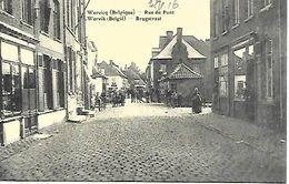 CPA / AK / PK   - WERVIK   Brugstraat - Wervik