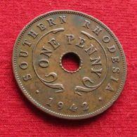 Southern Rhodesia 1 One Penny 1942 KM# 8a Rodesia Do Sul Rhodesie - Rhodesia