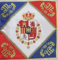 Bandera Regimiento Rey José I Bonaparte. España. 1808-1813. Guerras Napoleónicas. Guerra De La Independencia - Drapeaux
