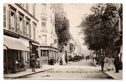 75  PARIS  XVII  -  Rue Des Batignolles - La Poste - Distretto: 17