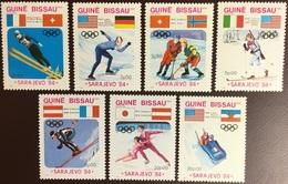 Guinea Bissau 1984 Winter Olympics MNH - Guinea-Bissau