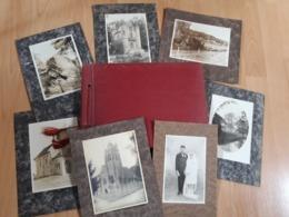 Bel Album Famille Paysages Avec 8 Photos Contre Collé - Albums & Collections