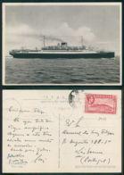 BARCOS SHIP BATEAU PAQUEBOT STEAMER [BARCOS # 02988 ] - ITALIA SATURNIA - Steamers