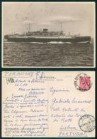 BARCOS SHIP BATEAU PAQUEBOT STEAMER [BARCOS # 02989 ] - ITALIA SATURNIA - Steamers