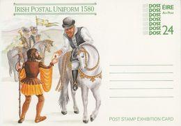 Irlande Eire Irland Irish Postal Uniform 1987 Postal Stationery Entier - Interi Postali