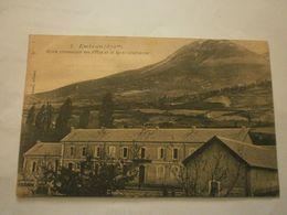 05 Embrun, école Communale Des Filles Et Le Mont Guillaume (9228) - Embrun