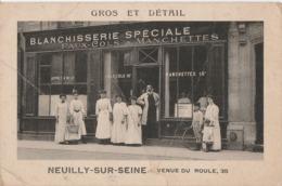 92 NEUILLY SUR SEINE Blanchisserie Spéciale 35 Avenue Du Roule - Neuilly Sur Seine