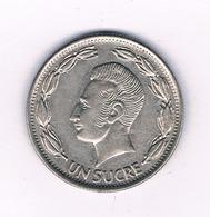 UN SUCRE 1970 ECUADOR /4606/ - Ecuador