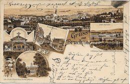 1899 - Bruck An Der Leitha , Gute Zustand, 2 Scan - Bruck An Der Leitha