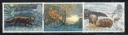 APR1380 - GRAN BRETAGNA 1992, Unificato 28p.+33p.+39p. Usati N. 1591+1592+1593 (2380A) - 1952-.... (Elizabeth II)