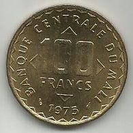 Mali 100 Francs 1975. FAO KM#10 High Grade - Mali (1962-1984)