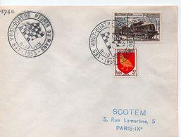 LE MANS:LES 24 HEURES.11-12-JUIN 1955. - Marcophilie (Lettres)