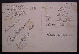 1939 Rillieux (Ain) Dépôt De La Légion étrangère, Cachet Sur Carte Pour Aucamville Tarn Et Garonne - 2. Weltkrieg 1939-1945
