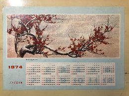 Cea - CHINESE CALENDAR  Year 1974 - Calendars