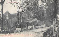 GESSE - Route De Carcanières - A Gauche, Le Château. - France
